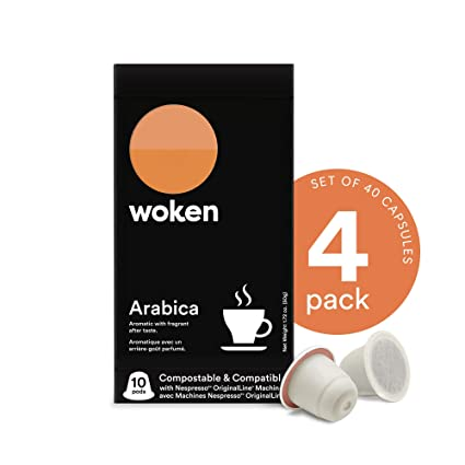 40 save our 20 count compostable espresso pod bundle
